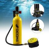 1L Scuba Diving Tank Set Mini Scuba Tank Dive Respirator Scuba Tank Storage Bag Travel Snorkel Underwater