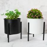 Mini Iron Plant Flower Rack Metal Rack Flower Pot Plant Display Stand Holder For Home Office Desk Decoration