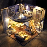 TIANYU Dream Starry Sky (Loft Edition) TD39 DIY Doll House Hand-Assembled Model Creative Creative Toy With Dust Cover