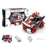 491PCS MoFun M20 DIY 2.4G Block Building Programmable APP/Stick Control Smart RC Robot Car