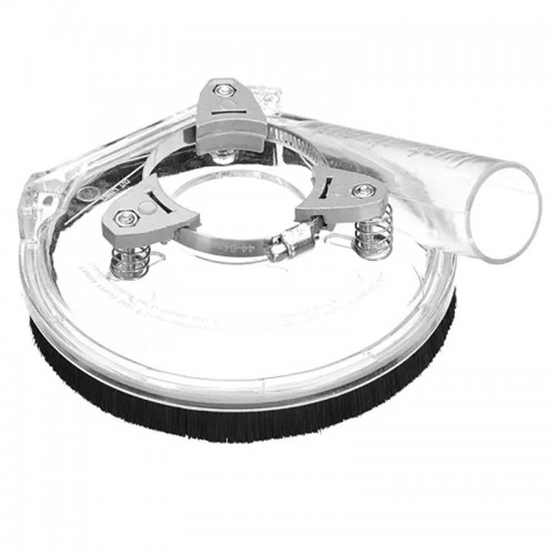 Drillpro Dust Shroud Cover Angle Grinder Dust Collecting Cover Angle Grinder Clear Vacuum Cover For Dust-free Operation
