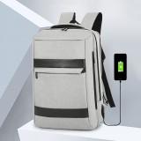 Men USB Charging Waterproof Large Capacity Business Travel 16 Inch Laptop Bag Travel Bag Backpack