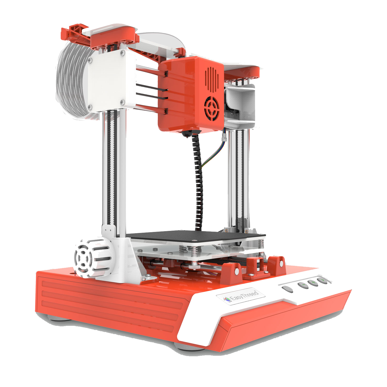 Easythreed K1 Desktop Mini 3D Printer Kit 100X100X100mm Print Size Four Keys Control for Household Education & Students
