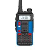 BAOFENG BF-UV10R 8800mAh 16W Two-way Handheld Radio UV Dual Blue Walkie Talkie 128 Channels LED Flashlight USB