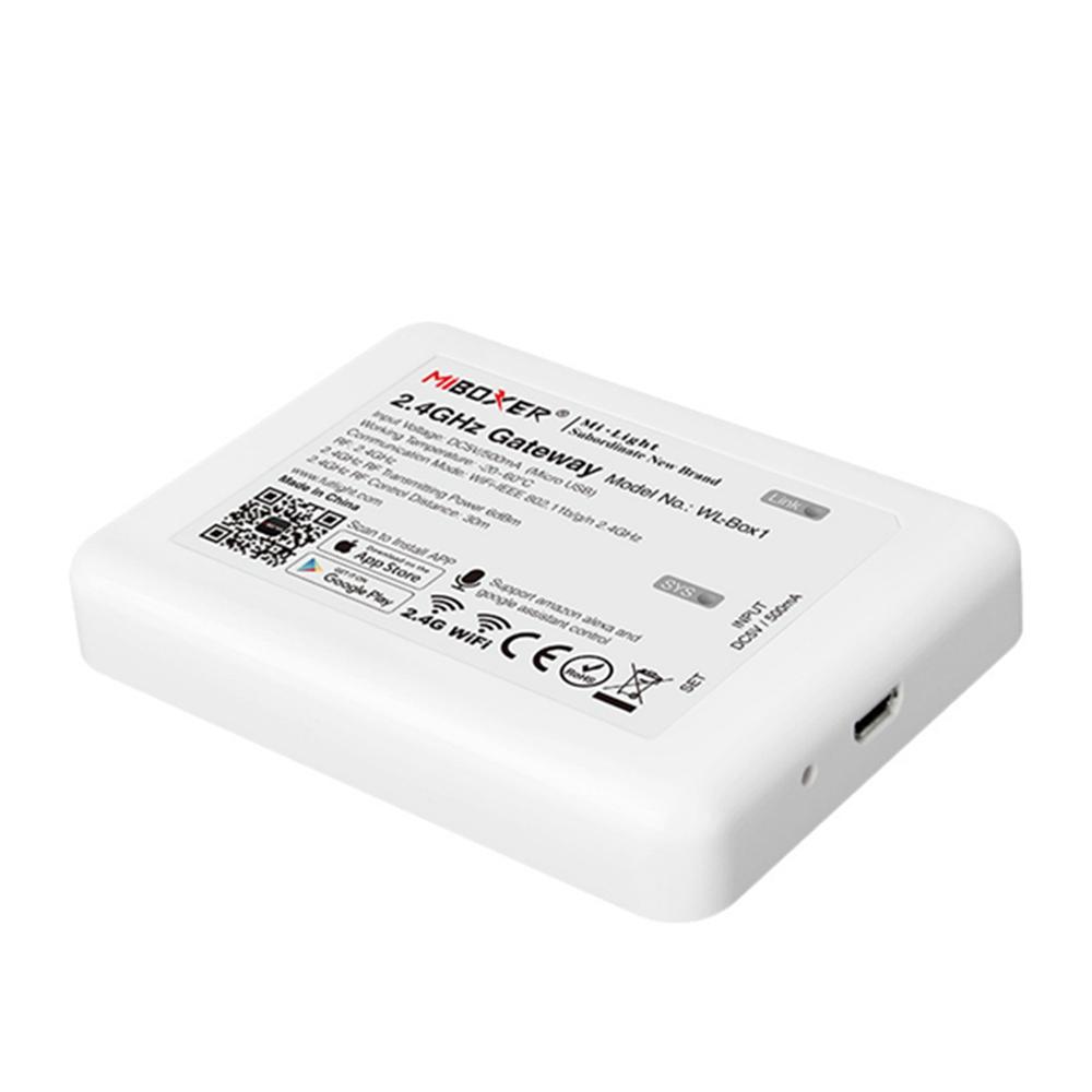 MiBoxer WL-Box1 2.4GHz WiFi Smart Controller for Mi-Light RF Series Product DC5V