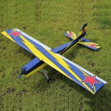 OMPHOBBY Challenger 49 GP 1250mm Wingspan Blasa Wood RC Airplane Trainer Warbird KIT