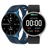 "[bluetooth 5.0] Bakeey LW11 1.28"" Full Touch Heart Rate Blood Pressure Oxygen Monitor Multiple Dials Customized Watch Face Ultra-thin IP68 Waterproof Smart Watch"