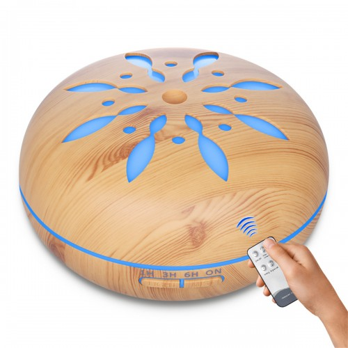 550ml Ultrasonic Air Humidifier Mini LED Aroma Diffuser Air Aromatherapy Purifier Essential Oil for Home Office