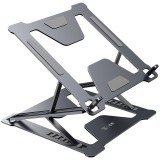 Folding Laptop Stand Bracket Portable Base Aluminum Alloy Heat Dissipation Computer Desktop Elevated Bracket