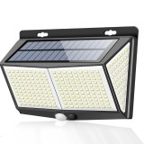 ARILUX 8W 288LED Solar Wall Light Motion Sensor Garden Courtyard Path Lamp 3 Modes Waterproof IP65