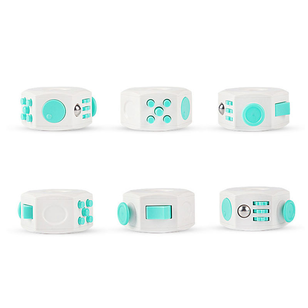 Anti Stress Cube Toy Decompression Toy 6 Faces Press Magic Stress and Anxiety Relief Depression Anti Cube for Kids and Adults