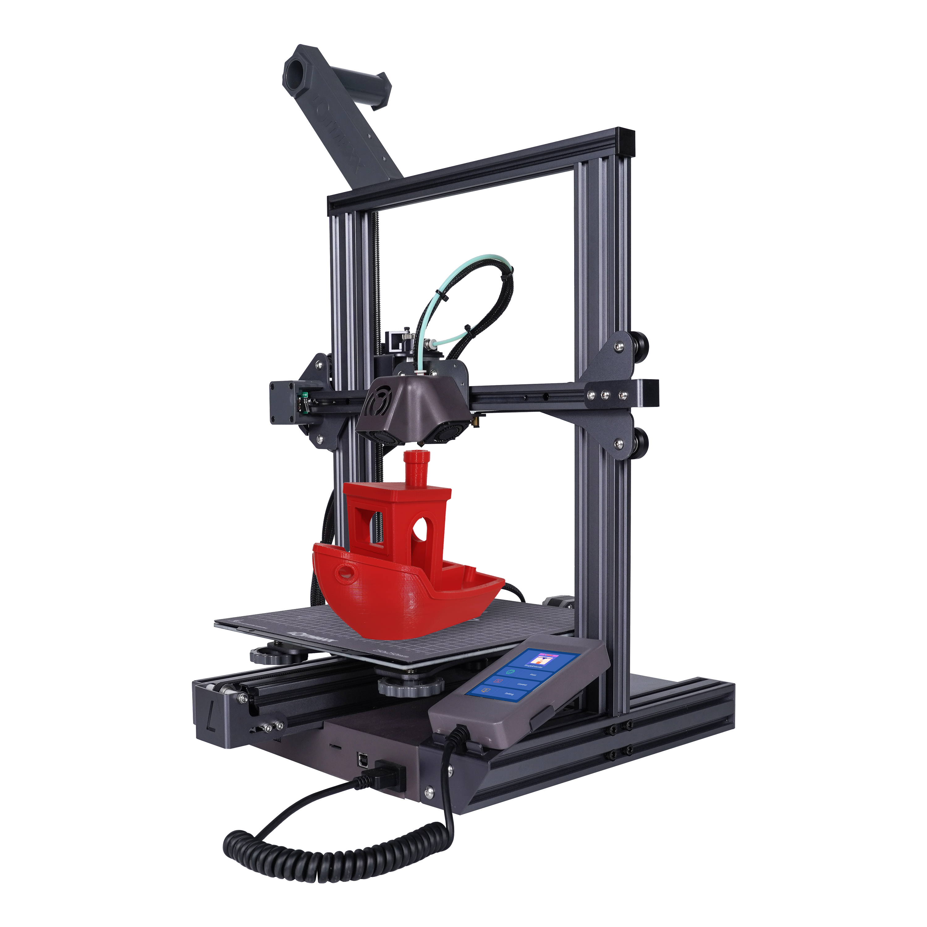 LOTMAXX SC-10 SHARK 3D Printer 235*235*265mm Print Size With 8 Languages Translate/Auto Leveling Support Dual Color Print