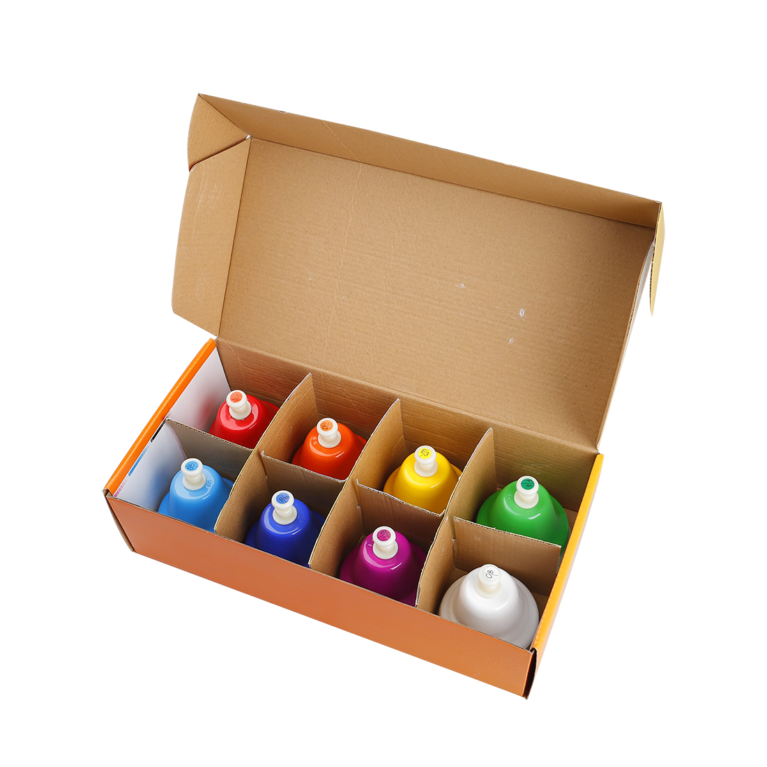 SY-67 Orff Instruments Colorful Eight Tone Bell Hand Bell Set