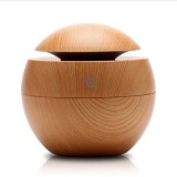 LED Air Humidifier Diffuser Small Humidifier Night Light USB DC5V Mini Humidifier Wood Grain Moisture Meter Humidifier