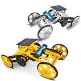 DIY Solar Assembled Electric Building Block Car STEM Science And Education Children's Educational Electric Model Toy