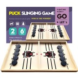 Table Hockey Game Win Board Family Parent-child Interactive Toy Fast Sling Puck Board Game Toys For Kid Creative Gifts