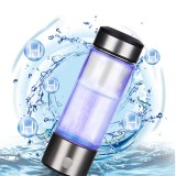 400ml Water Filter Bottle Hydrogen Generator Water Cup Reusable Smart 3 Minutes Electrolys Water Purification Ionizer