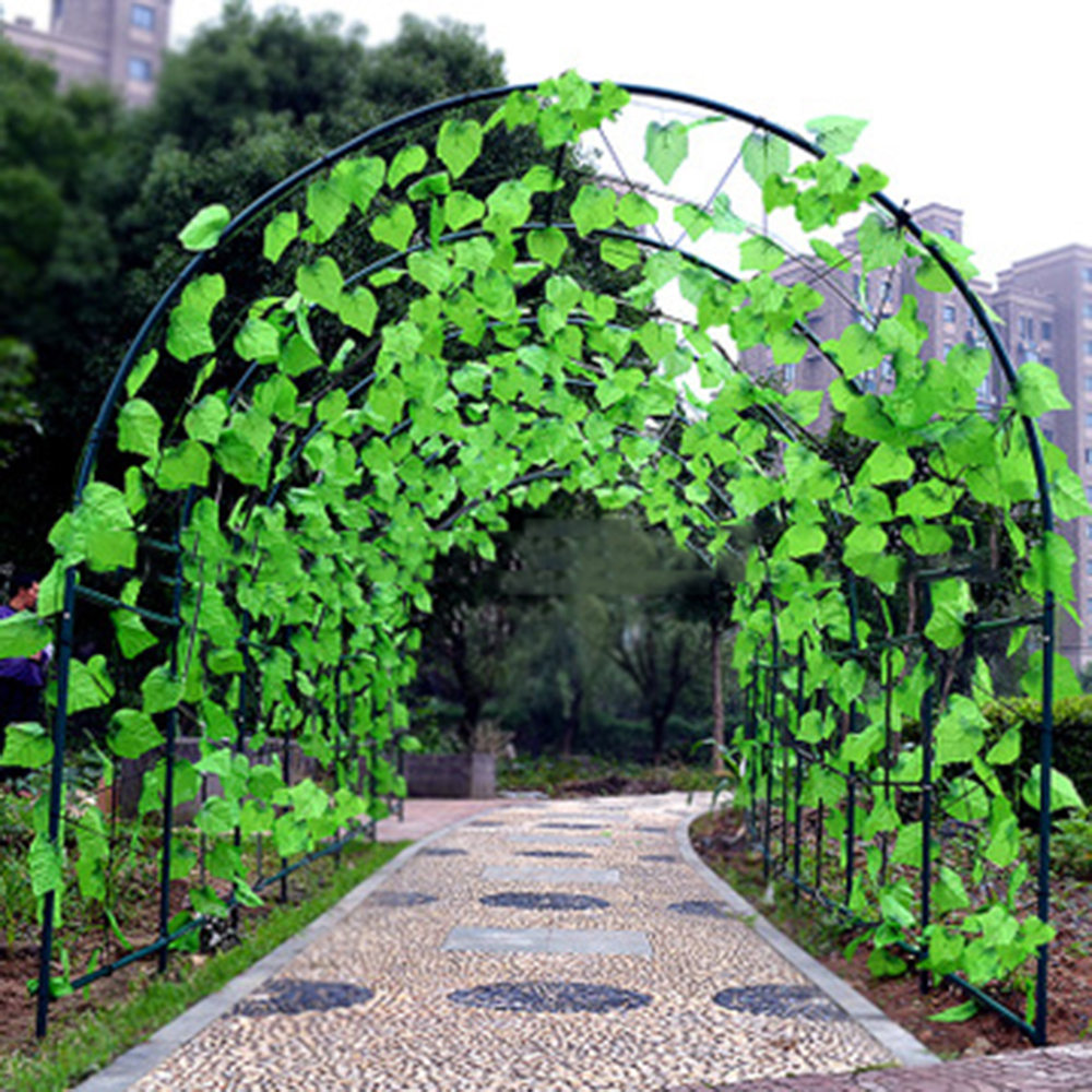 300X200x180cm Greenhouse Replacement Frame Support Arch Frame Climbing Plants Flowers Vegetables for Garden House