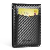 NewBring Card Holder RFID Block Driver License Cash Cardholder Wallet Money Clip Business Credit Cardholder
