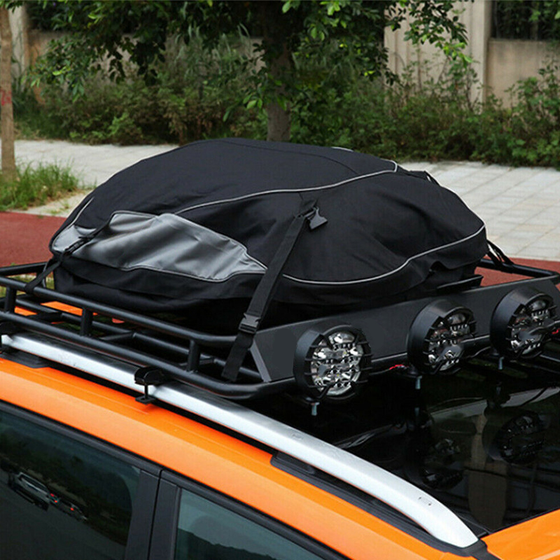 160x110x45CM Waterproof Car Roof Top Rack Bag Cargo Carrier 600D Oxford Cloth Luggage Storage Travel SUV Van for Cars
