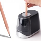 Tenwin 8031 Stationery Submarine Shaped Electric Pencil Sharpener Pencil Sharpener Electric Cute Battery USB for Kids Children