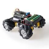 MC100 4WD Wheeled Trolley Smart Car Kit with Mecanum Wheel 1:48 Reduction Ratio TT Motor
