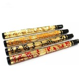 Jinhao 5000 Millennium Dragon Pen 0.5mm Nib Ink Pen Fountain Pen Luxury Metal Golden Nib For Office Writing