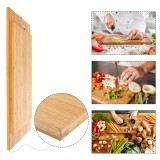 Wooden Chopping Board Bamboo Square hangable Cutting Board Thick Natural Cutting Board for Kitchen Cooking Cutting Board