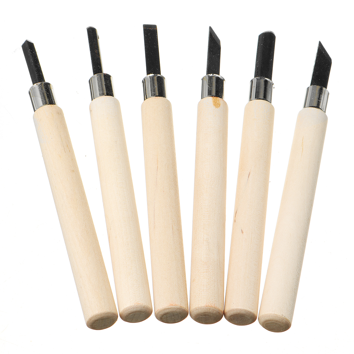 3/4/5/6/8Pcs Wood Carving Tool Chisels Set WoodCarving Kit Woodcut Craft Hand Tools