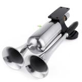 12V 24V 300DB Electric Dual Trumpet Air Horn Super Loud For Car Van Boat Pickup