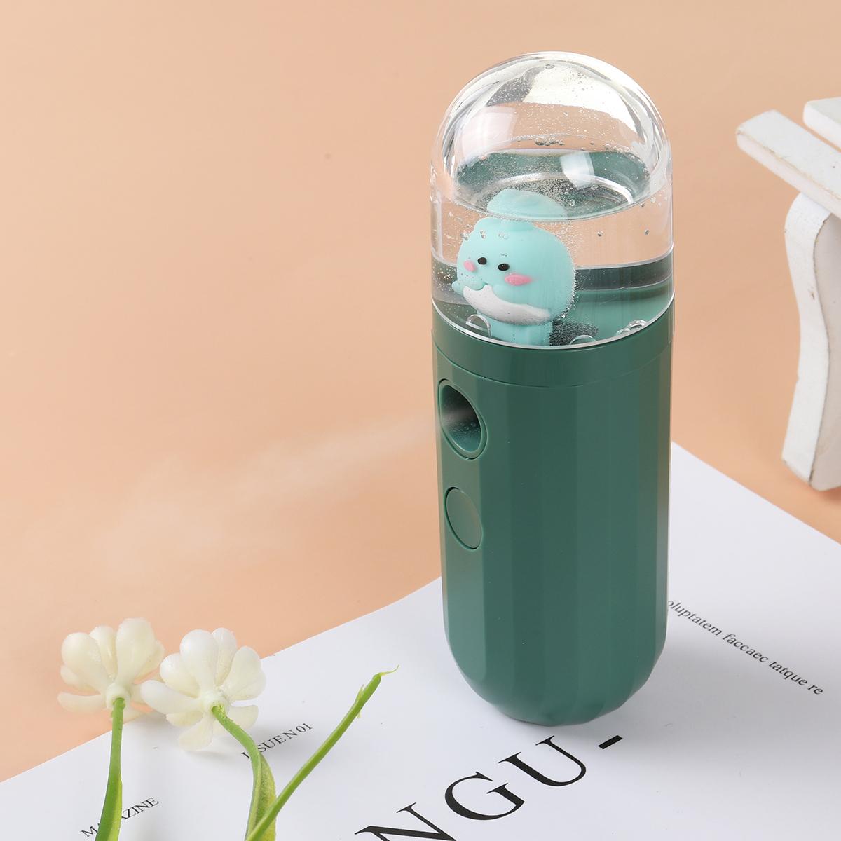 5V Portable Mini humidifier Nanometer Fine Fog USB Charging 250mAh Battery Life Low Noise for Home Car Office