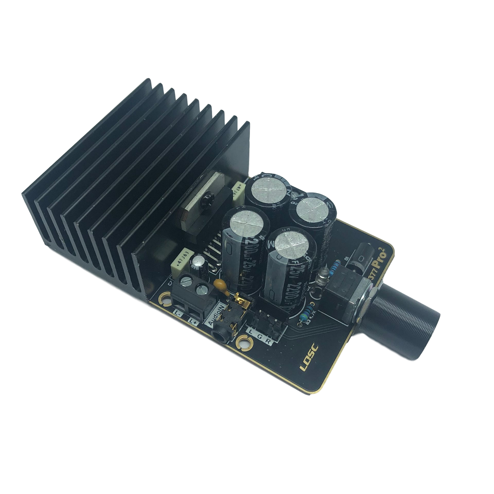 TDA7377 Digital Power Amplifier Board Module 30W*2 Dual Channel Stereo 12V DIY Audio Power Amplifier