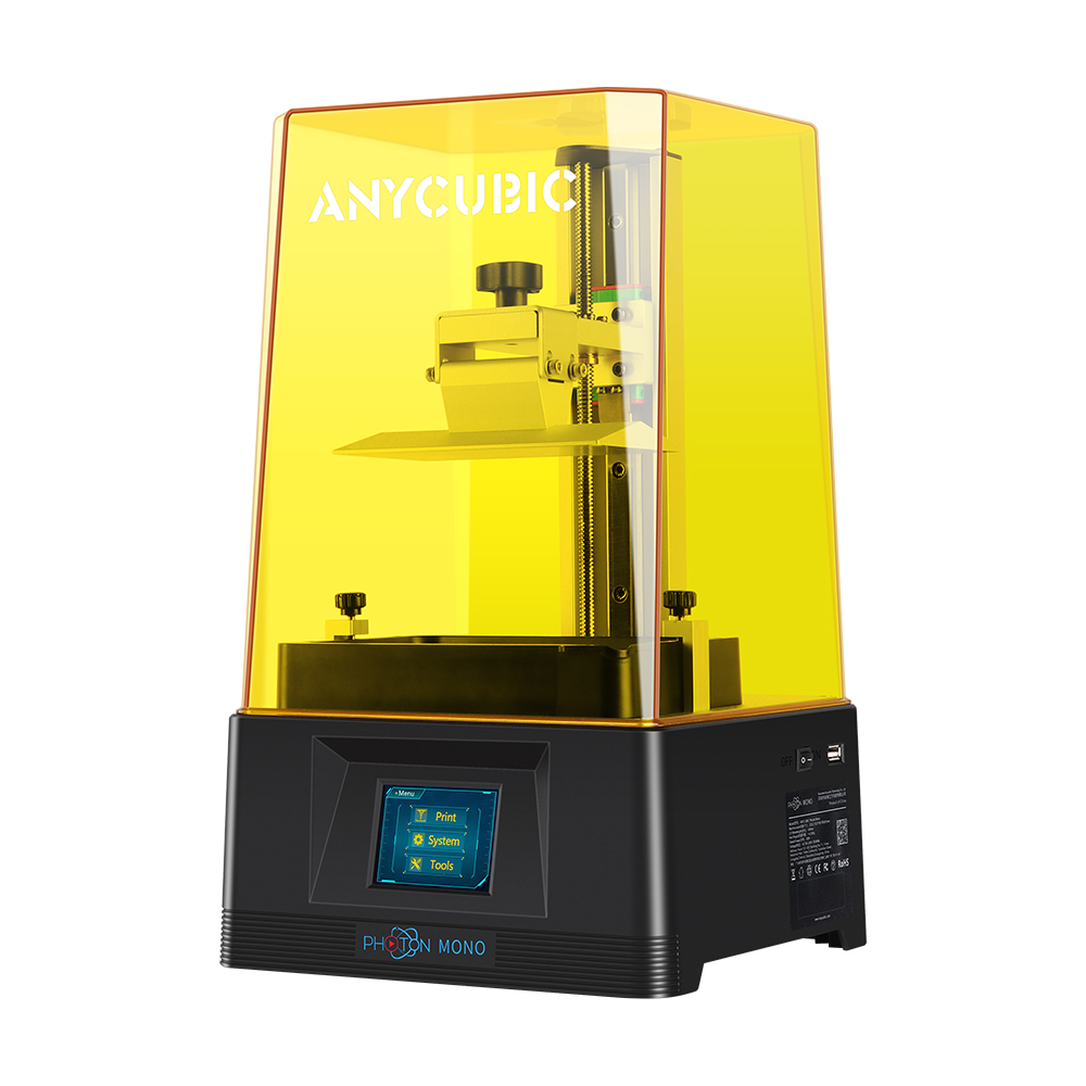 Anycubic Photon Mono 2K High Speed Resin 3D Printer 130x80x165mm With 2K LCD Screen / Parallel Light Source / Top Cover Detection / Power Source