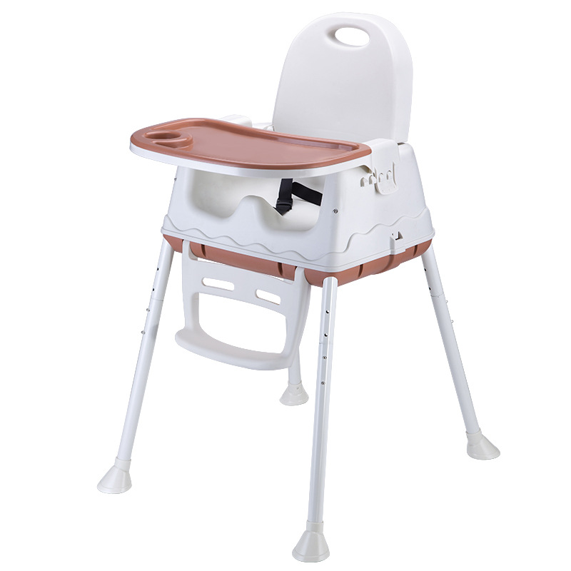 Big Size Baby Dining Chair Multi Function Foldable Baby High Chair Dining Table Seat with Adjustable Tray Indoor Supplies