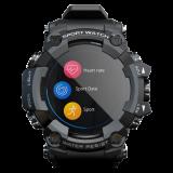 LOKMAT ATTACK Heart Rate Blood Pressure Oxygen Monitor Multi-sport Modes Waterproof Outdoor Smart Watch