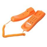 Desktop Landline Phone Fixed Telephone FSK/DTMF Caller Fresh Color Corded Phone for Home Office Hotels