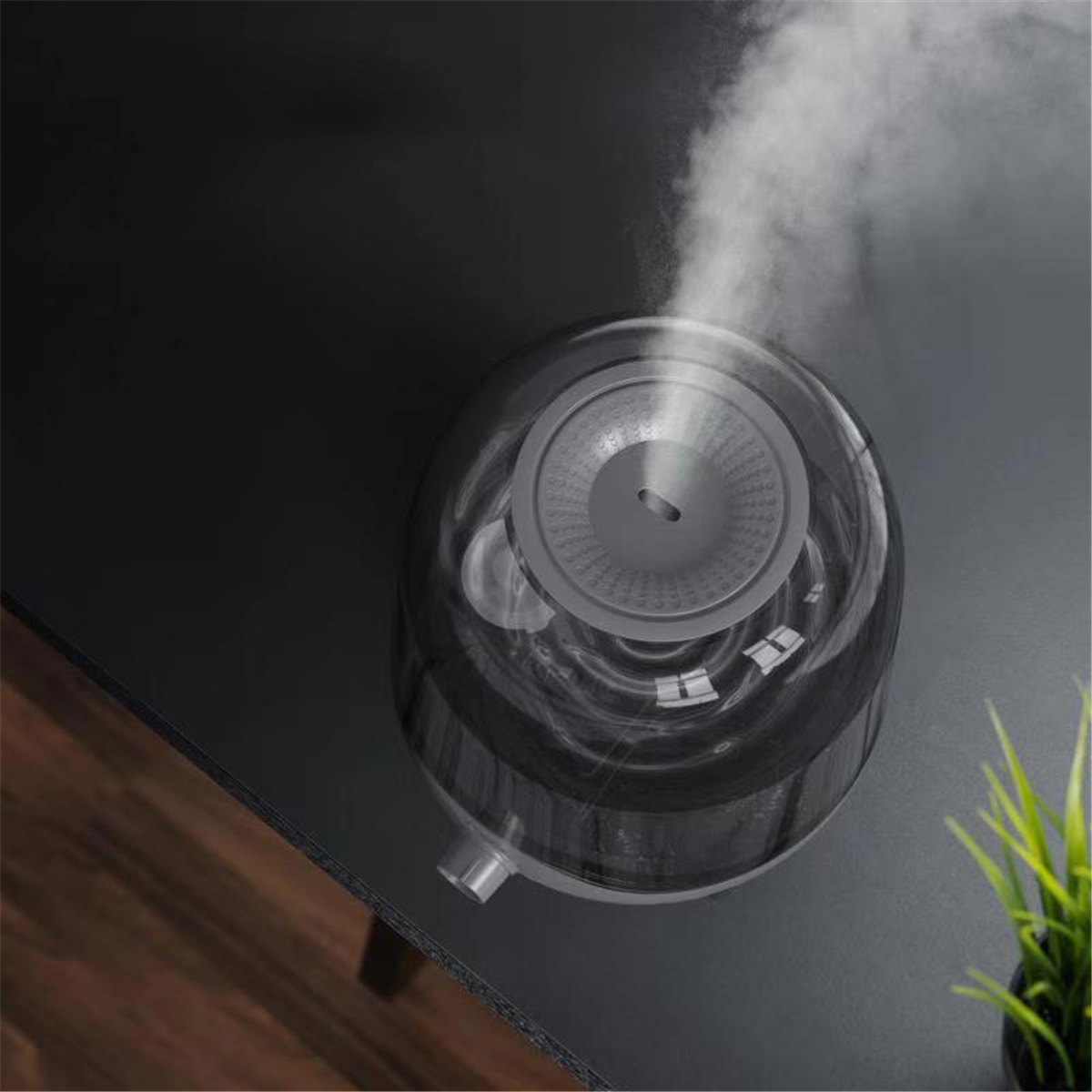 Deerma DEM-F323/DEM-F325 5L Large Capacity Crystal Air Humidifier 220V 25W 280 ml/h Humidification Low Noise Operation