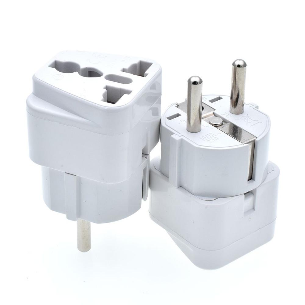 CANYE WD-9 Conversion Plug World Travel Plug Adapter 110~250V 10A~16A Socket Travel Abroad Converter DE/EU Plug
