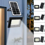 236/410/600/988LED Solar Flood Light Glass Style Light-control Outdoor Garden Street Wall Lamp+Remote Control
