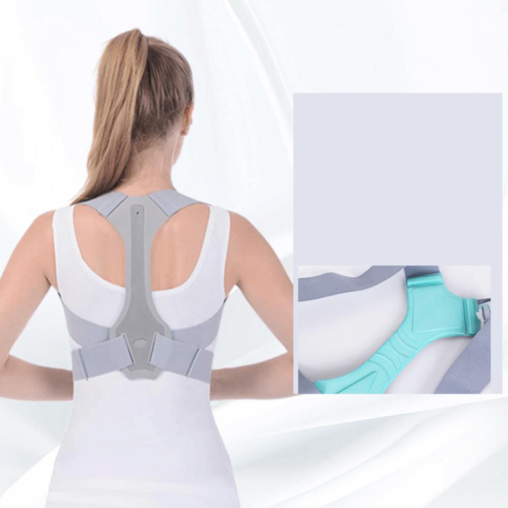 Back Posture Correction Belt Shoulder Posture Pain Relief Humpback Correction Spine Support Fixation Belt for Adult Children