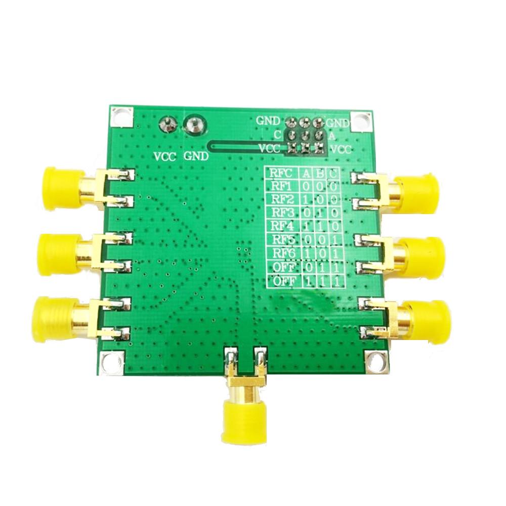 HMC252 DC-3 GHz RF Single Pole Six Throw Switch RF Switch Non-reflective SP6T Switch Module