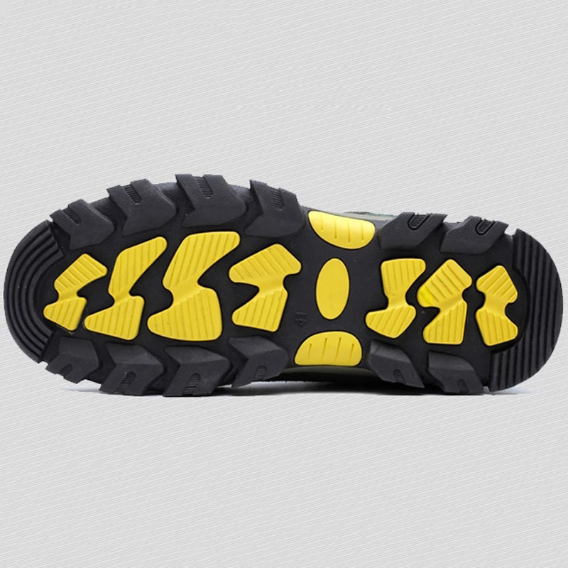 TENGOO Steel Toe Safety Work Shoes For Men Breathable Industrial Security Protective Shoes Puncture Proof Work Sneakers