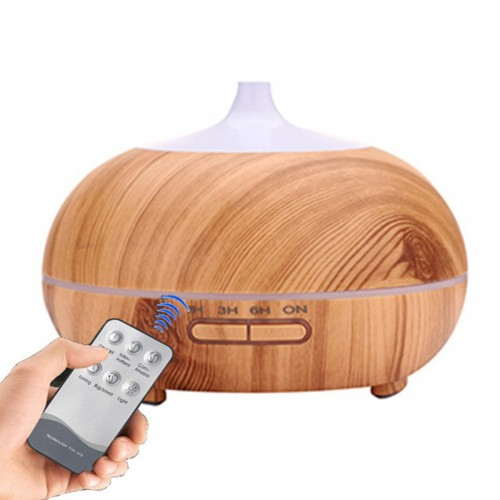 300ml Electric Ultrasonic Air Mist Humidifier Purifier Aroma Diffuser 5 Colors LED Timing Function for Home Car Office