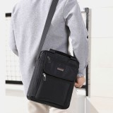 Men Nylon Casual Brief Waterproof Multi-pocket Multi-purpose 12 Inch Laptop Bag Handbag Shoulder Bag Crossbody Bag