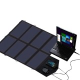 ALLPOWERS X-DRAGON 18V 40W Portable Solar Panel Charger Dual Ports Solar Cell for Phone Tablet Laptops Camping Hiking Accessories