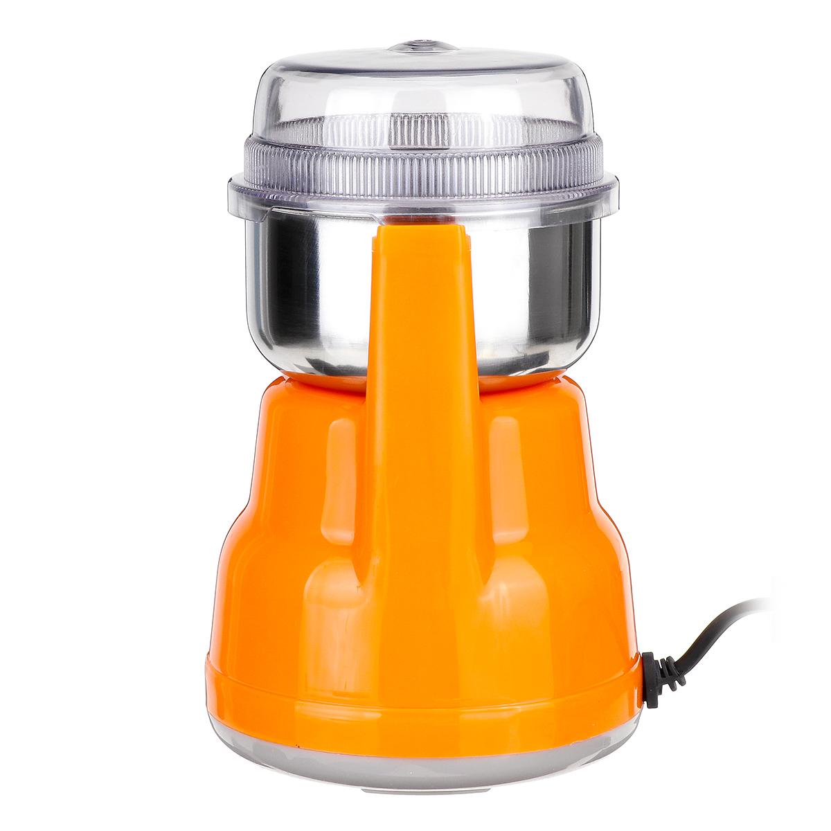 Electric Coffee Grinder Maker Grinding Milling Bean Spice Salt Pepper Grinder