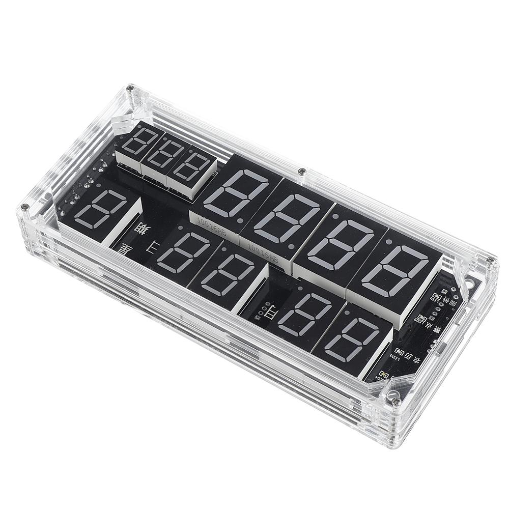 Large-screen Voice Clock Kit High-precision Clock Electronic DIY Welding Training Kit