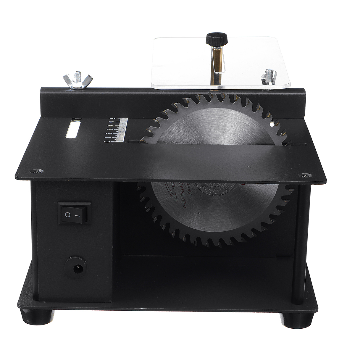 Multifunctional Small Cutting Mini Table Saw DIY Woodworking Jade Chainsaw Table