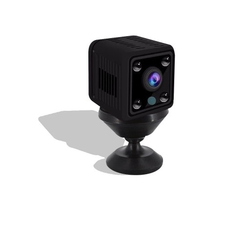 1080P HD Mini Wifi IP Camera 360 2MP Night Vision Moving Detection Alarm Push Recorder Camcorder DVR IP Camera Baby Monitors for Remote Live Broadcast Baby Care
