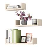 Wall Shelf Bedroom Simple Modern Living Room Wall Shelf Creative Bookshelf with Free Punch